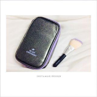 韓國ETUDE HOUSE宇宙星空刷具化妝包+修容刷
