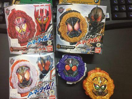 Kamen Rider Zio ridewatch DX/ SG