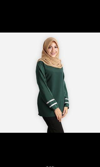 Salina Basic Blouse Ready Stock Free size #GayaRaya