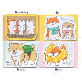 Notes hachiko lucu