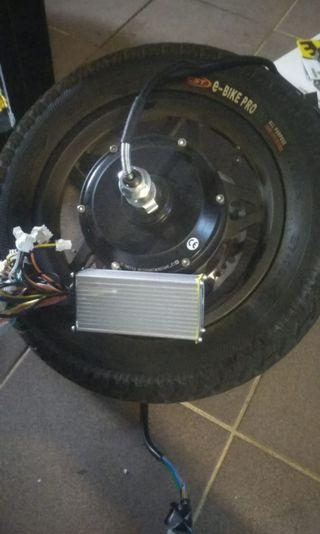 Fiido motor and controller