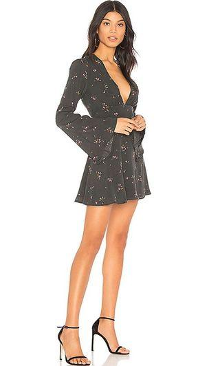 Privacy please charcoal ditzy dress