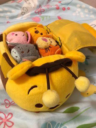 TsumTsum Winnie the Pooh 公仔一Set 香港迪士尼絕版