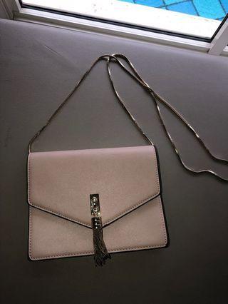 Forever new pink sling bag