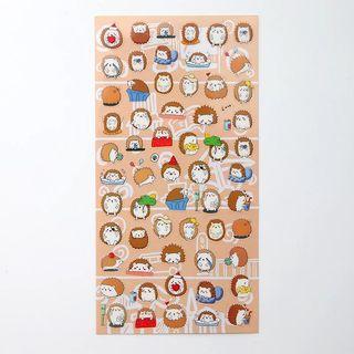 Cute hedgehog 🦔 sheet stickers