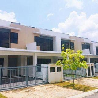 Gated and guarded FREEHOLD DOUBLE STOREY near to MRT LRT [15% rebates for early bird]