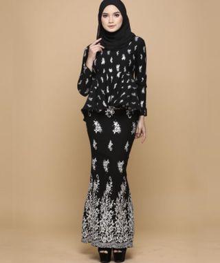 HIJABISTAHUB Sarimah Peplum (Wear Once)