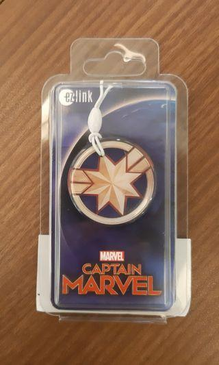 Ezlink ez link ez-link Captain Marvel charm mrt