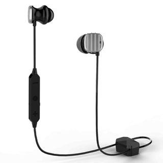 2610 COWIN HE8D Active Noise Cancelling Bluetooth Earbuds, Wireless In-Ear Bluetooth Headphones with Hard Travel Case Built in Microphone Volume Control Enhanced Bass Ear buds- Sliver