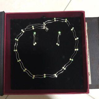 🚚 Crystal Jewelry Set - Price Reduced