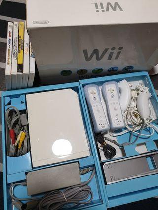 Nintendo Wii bundle w games