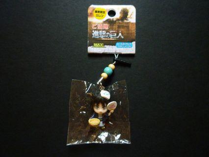 Shingeki no Kyojin Charm Strap With Earphone Jack Bathhouse Ver. (Limited)
