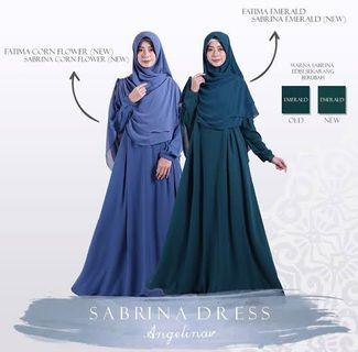 Sabrina Dress and Fatima Khimar by Atelier Angelina