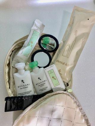 Bvlgari amenity kits for Women #SuriaKLCC   #GayaRaya #OYOHOTEL