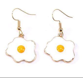 New! FREE Mailing! Egg Earrings