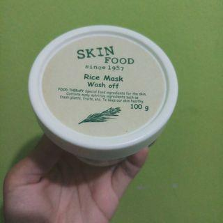 Skin food rice mask wash off 100g