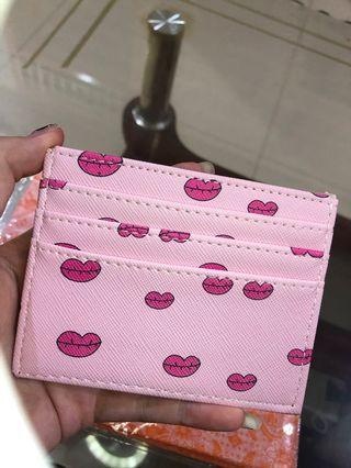 Card Holder Motif 6 Slot + Money Slot Sexy Lips Pink [NET] #CardHolder #CardHolderMotif