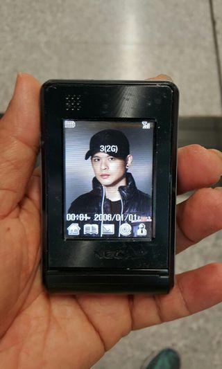 像相機的手機 NEC 手機