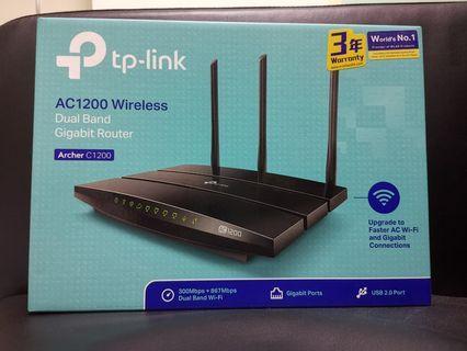 TP-link AC1200 Archer C1200 無線雙頻路由器 Wireless Router