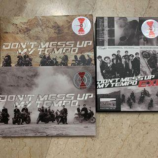 [ WTS ] EXO Don't mess up tempo unsealed albums