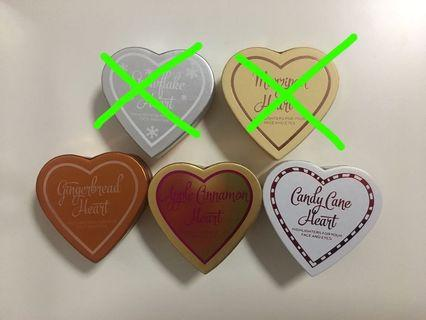 I Heart Revolution Baked Highlighters