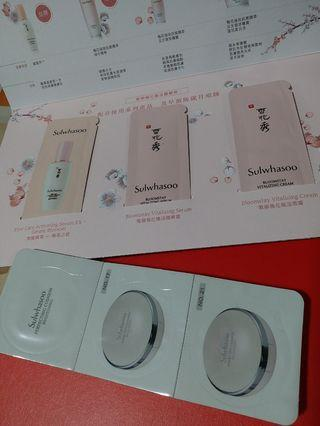 Sulwhasoo Samples