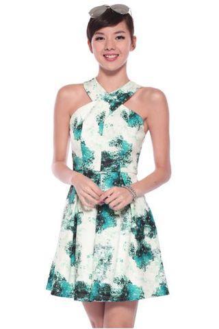 Clearance! Brand New Love Bonito Cashae Dress Emerald Green M