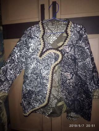 Blazer Batik pekalongan jumbo
