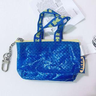 🚚 [全新]IKEA購物袋造型零錢包