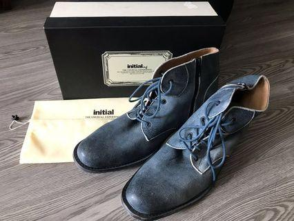 initial Vintage Leather Shoes
