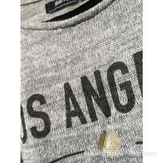 6ixty 8ight灰色針織print背心