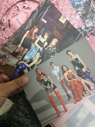 BLACKPINK YG SELECT KILL THIS LOVE ALBUM PREORDER BENEFITS POSTCARD