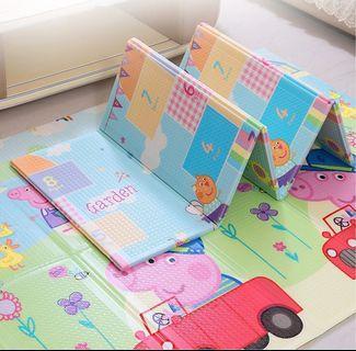 (全新現貨) 粉紅豬小妹 兒童折疊地墊 200*150*1cm