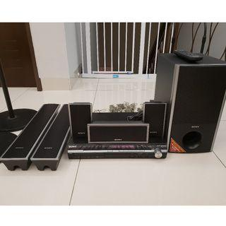 Sony - 5.1 DVD Home Theater #RayaHome #OYOHotel