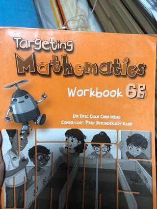 🚚 Primary 6 math workbook. Targeting Mathematics