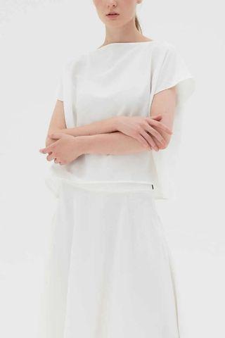 Atasan Putih Uniform NEW