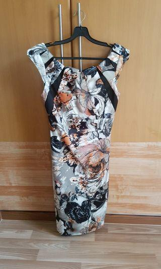karen Miller floral print dress