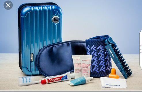 Authentic EVA Airline Rimowa Amenity Kit -  Blue