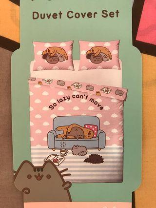 Pusheen cat 寢具(枕袋+被套)