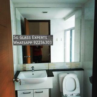 🚚 Toilet custom clear mirror