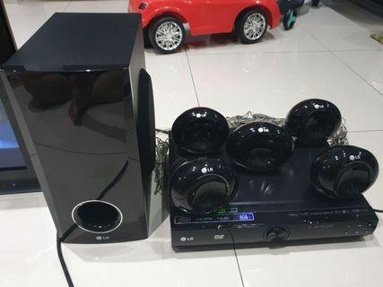 LG - 5.1 DVD Home Theater #RayaHome #OYOHotel