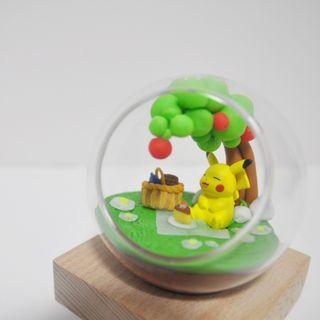 禮物 玻璃球設計 Pokemon 寵物小精靈 精靈球 比卡超