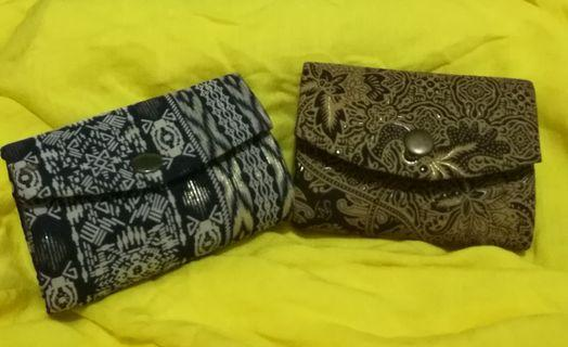 #prelovedwithlove Dompet batik coin / lipstick #maujam
