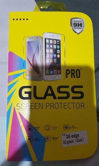 Samsung S6 Edge Glass Screen Protector