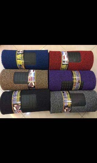 Karpet Kereta Car Coil Carpet with Magic Grip Backing Carmat (18MM)