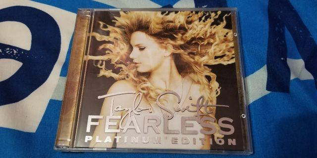 Taylor Swift Fearless Platinum Edition CD+DVD