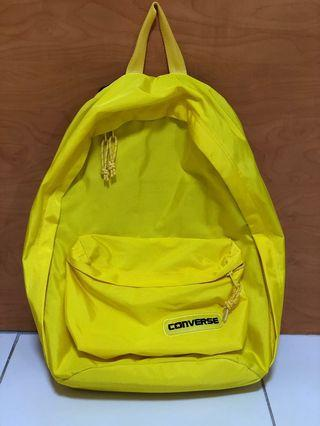 🚚 Authentic Yellow Converse Backpack