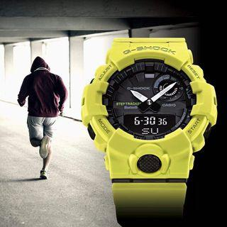 Brand new and 💯% authentic Casio G-SHOCK GBA-800-9A , sports watch with step tracker and Bluetooth , GBA800 , GBA-800 , GBA8009A , G-SHOCK , CASIO
