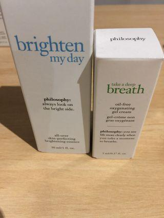 Philosophy brighten serum
