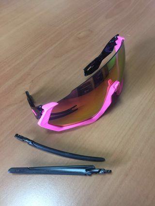 Oakley Flight Jacket Polarized Sports Sunglasses